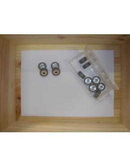 12 GALETS POLINI - 25 x 11 / 9.6 GRS - TMAX