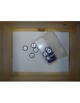 12 GALETS POLINI - 25 x 11 / 7.5 GRS - TMAX