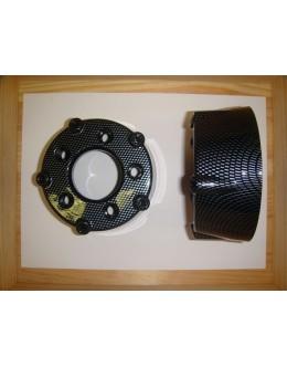 GRILLE RONDE DE POT COULEUR CARBONE BRILLANT 2 - TMAX 2001/2011