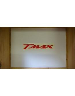 SIGLE TMAX EN RELIEF ROUGE - LA PAIRE