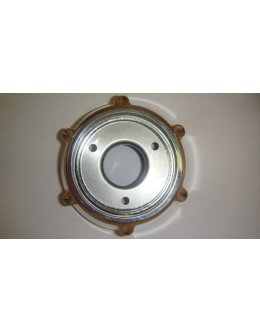 GRILLE RONDE DE POT CHROME - XMAX