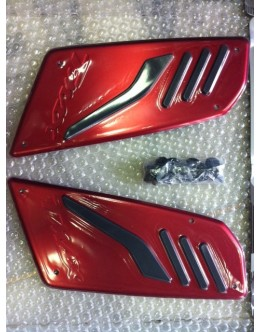 REPOSE-PIEDS YAMAHA ROUGES - TMAX 2012/2015