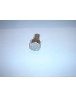 AMPOULE CLIGNO. A 19 LEDS BLANCHES - L'UNITE - NOMBREUX VEHICULES (ex : TMAX)